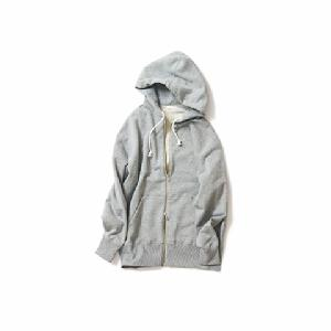 so-ro/Full Zip Sweat Parka(TopGray)